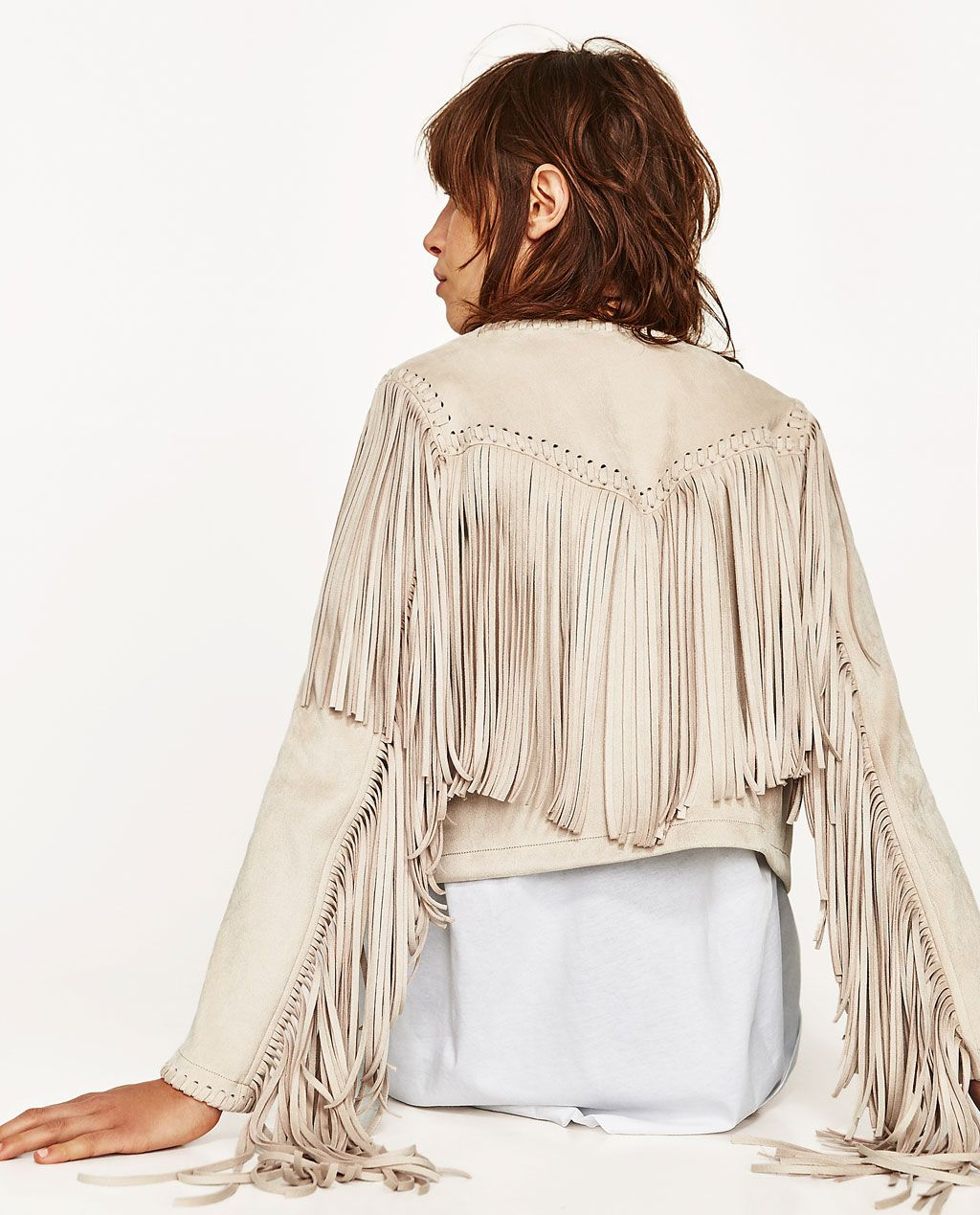 What To Wear With A Fringe Jacket