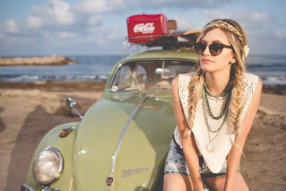 Woman, Fashion, Model, Hippie, Braided Hair, Hairstyle
